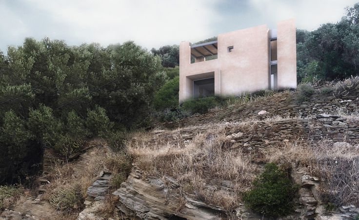 Andros House II - Achilles Kalogridis architecture