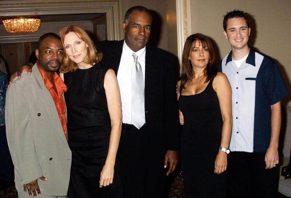 The Next Generation' from left to right LeVar Burton Gates McFadden Michael Dorn Marina Sirtis and Wil Wheaton attend the National Cable...