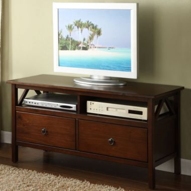Titian TV Stand in Antique Tobacco - JCPenney