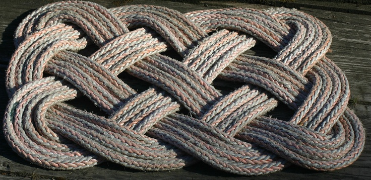 46 Best Line Rope Salvaged Images On Pinterest Rugs