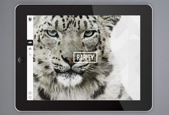 Creative Review - WWF's new iPad app