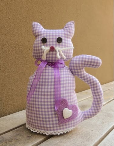 La mia craft room: Tutorial gatto fermaporta