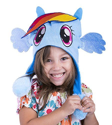 My Little Pony Flipeez Hat - Rainbow Dash @ niftywarehouse.com