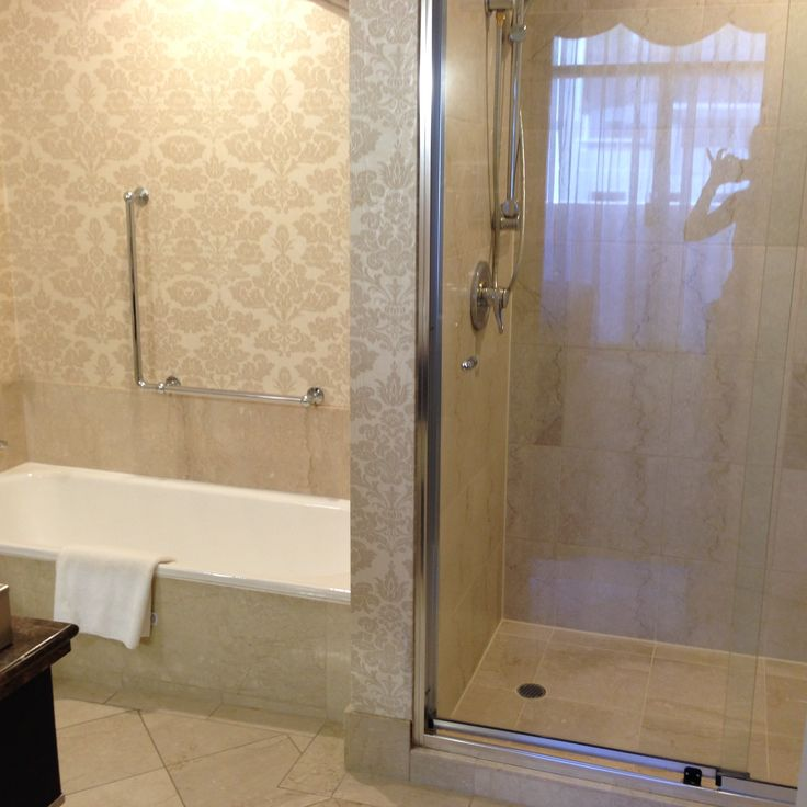 Bathroom in the King Suite at the Parmelia Hilton in Perth