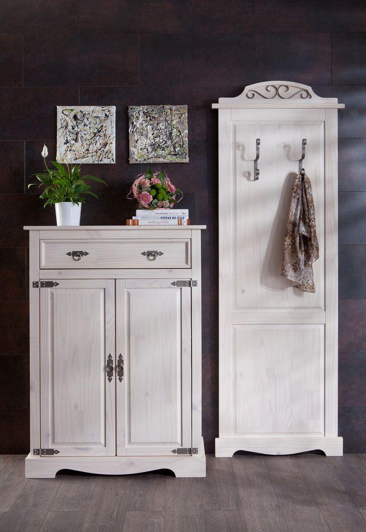 Tolle garderobe weiß antik