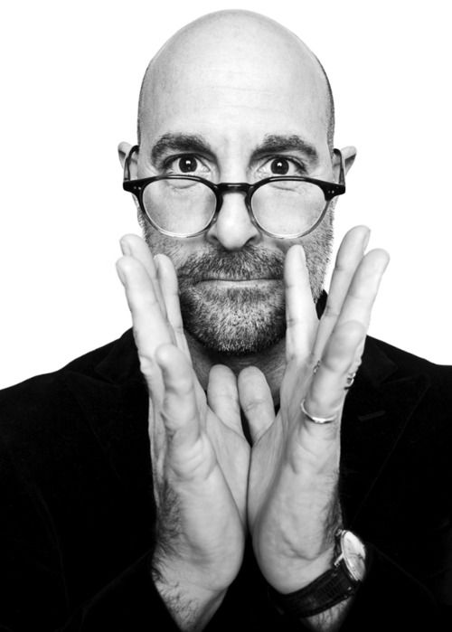 Stanley Tucci-- I ADORE this guy. Absolutely hilarious and stunning in everything he does