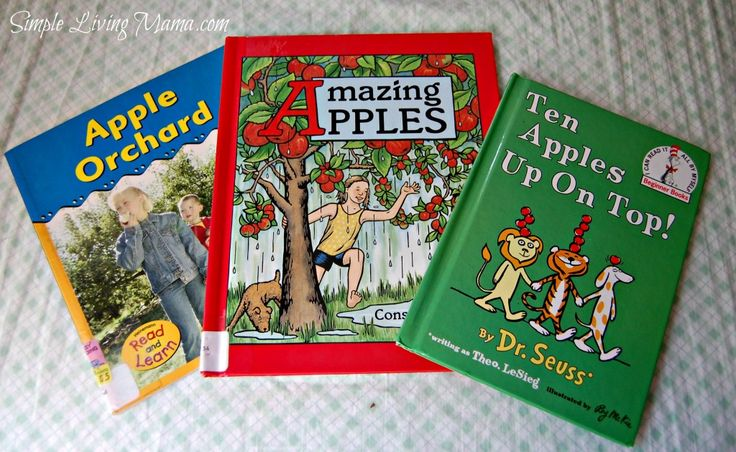 Apple unit study for preschoolers! Ideas and fun things to help your preschooler learn about apples!