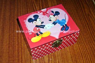 Mickey e Minnie - Caixinha