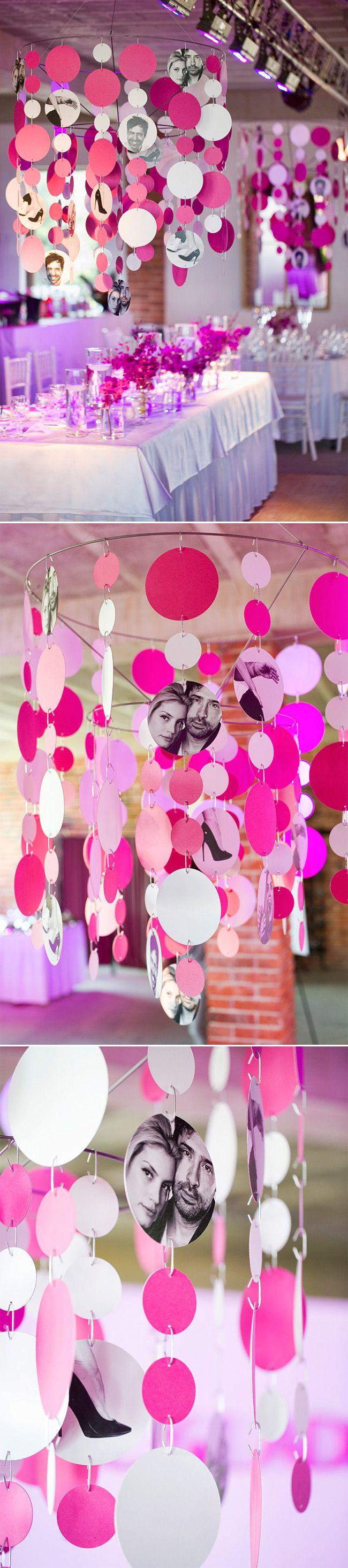 Svatba ve stylu magenta – Speciální dekorace pro svatební večer / Magenta wedding  – Special wedding decoration