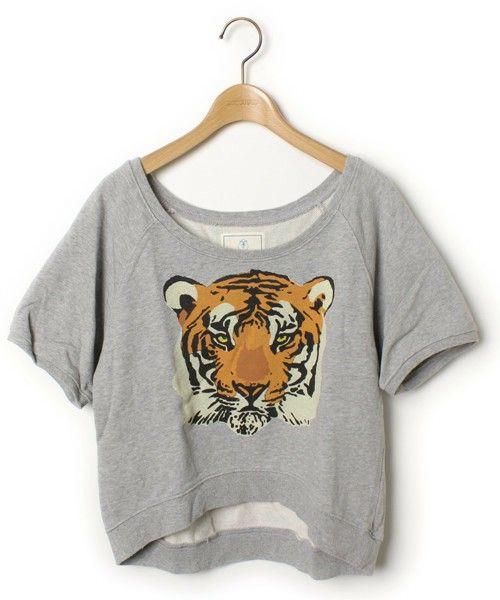 【ZOZOTOWN】WC(ダブル シー)のブランド古着「タイガープリント半袖スウェットカットソー」(スウェット)を購入できます。