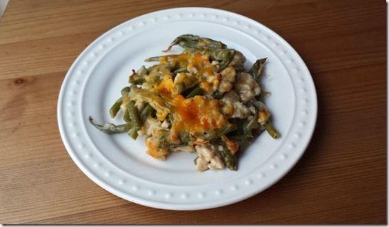 and Green Bean Casserole Recipe | Skinny Noms | Pinterest | Green Bean ...