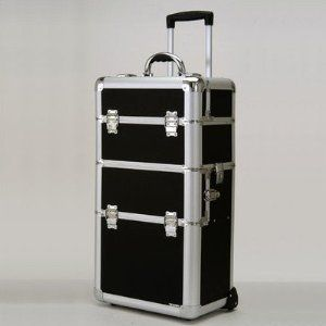 Skilled Make-Up Case w Wheels (Black Dot)