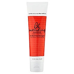What it is:A luxurious weekly masque for damaged hair.What it does:Perfect for those who regularly color, straighten, or perm their hair, this supercharged formula restores strength, increases elasticity, and detangles to leave hair marvelously manag