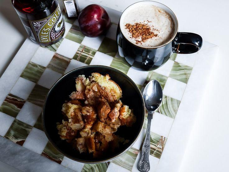 Italialainen omenapaistos | latte | coffee | resepti | food | autumn fall |