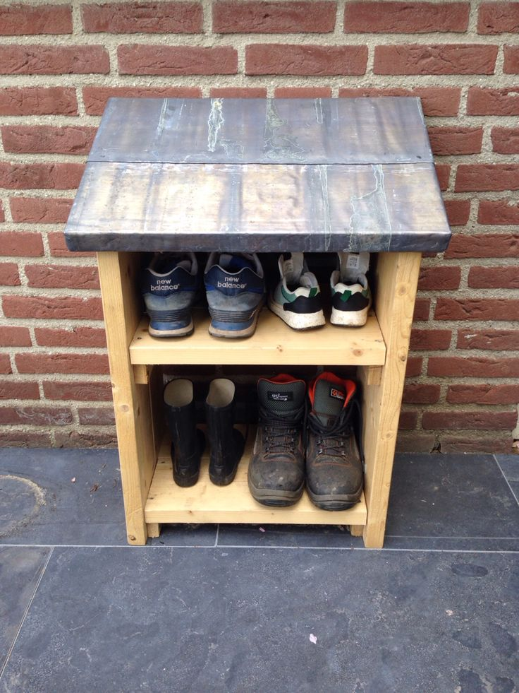 Wonderful Outdoor Shoe Storage!