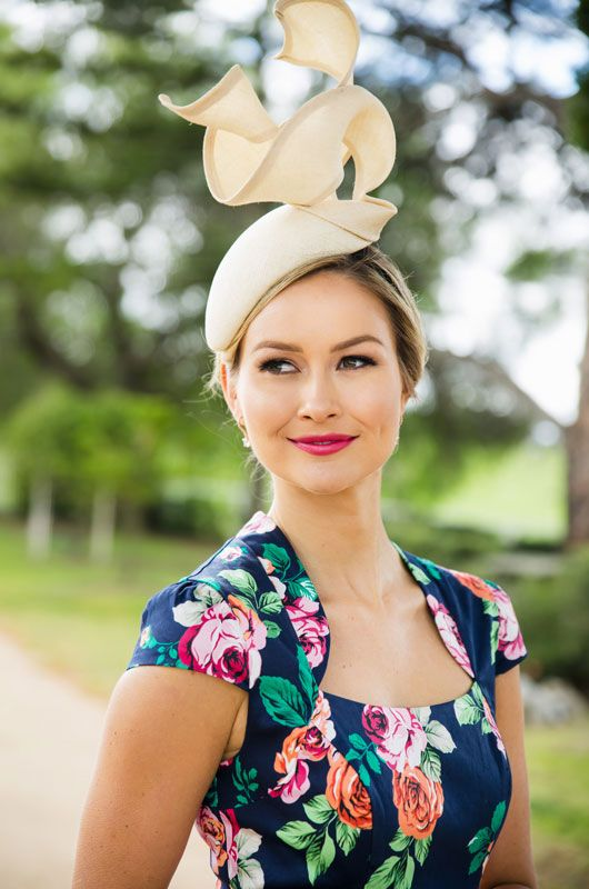 Review dress with Jill & Jack Millinery.