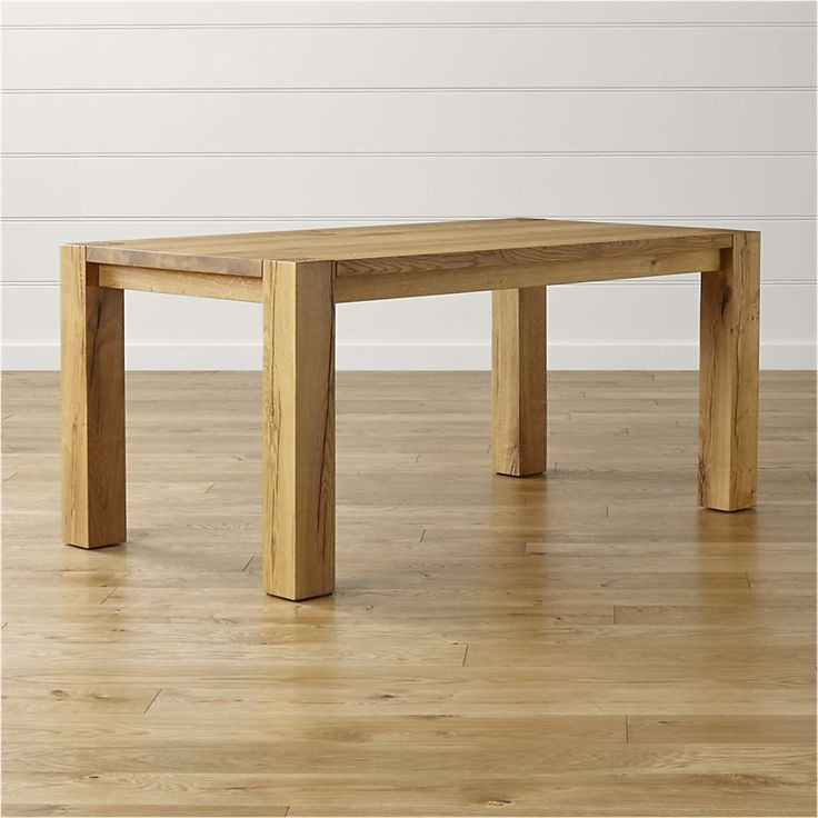 Big Sur Natural Dining Tables | Crate and Barrel