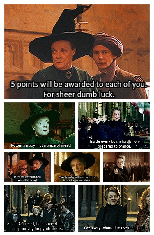 McGonagall is the best