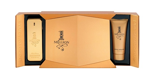 Paco Rabanne 1 Million 100ml eau de toilette gift set