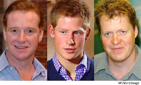 James Hewitt, Prince Harry, Earl Spencer