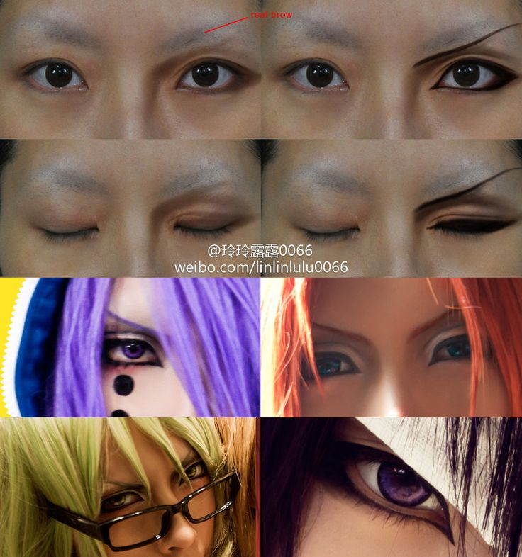 Anime Eyes Makeup Male Hd Wallpaper Gallery