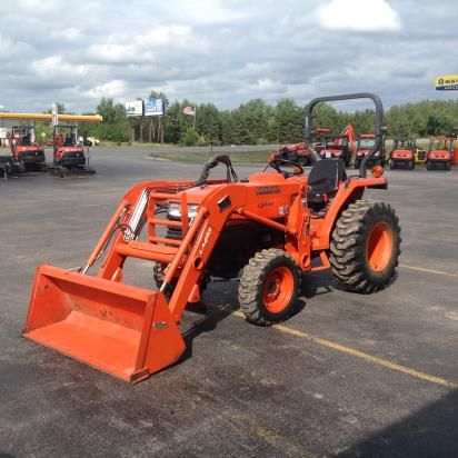 2007 Kubota L2800HST Tractor For Sale