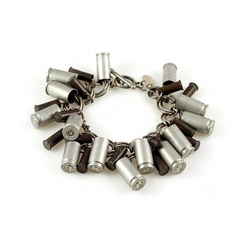 BULLET CASING BANGLE | Gun Jewelry, Brass | UncommonGoods