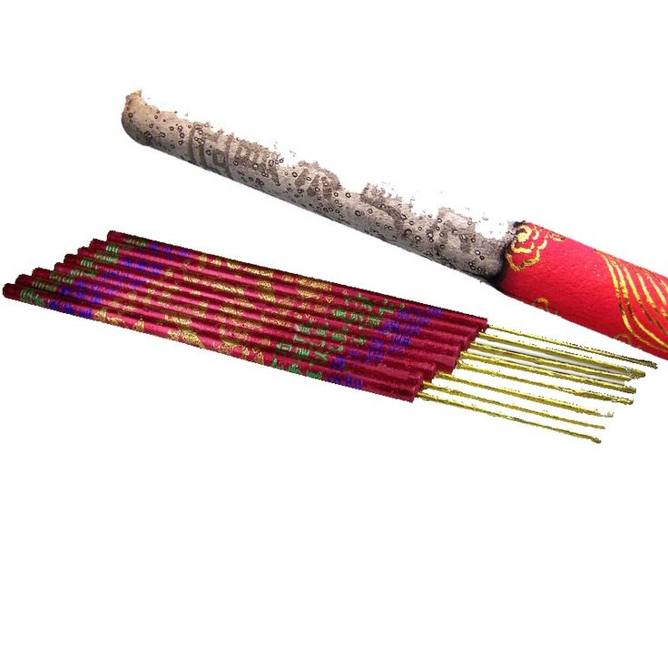 These incense sticks are so huge... There More like fireworks