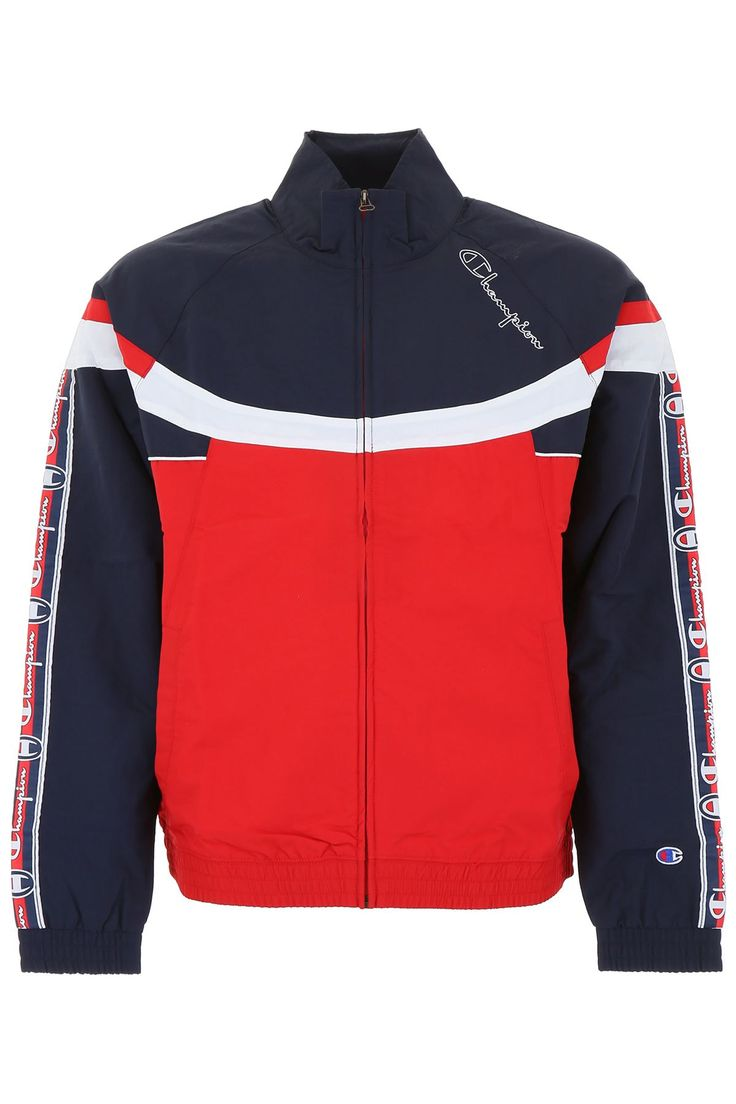 Champion Track Jacket In Blue,red,white ModeSens