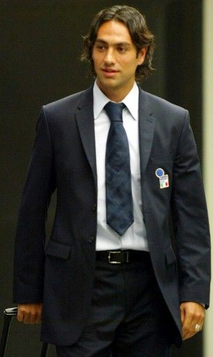 Alessandro Nesta in a suit
