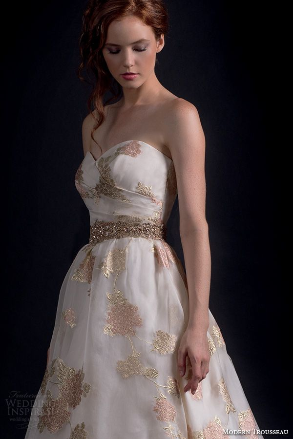 59 best fashion images on pinterest 1990s beautiful for Pink champagne wedding dress