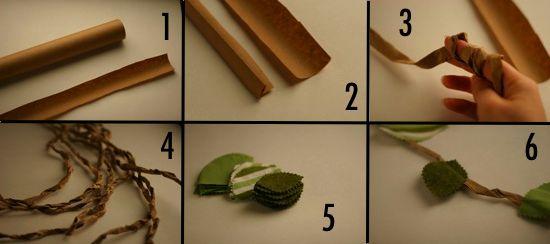 How to make a jungle vine tutorial