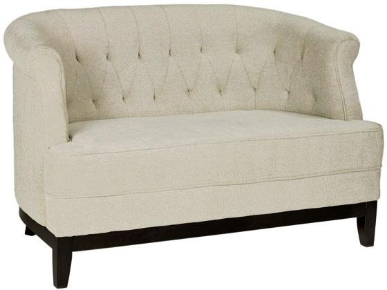 25 best ideas about settee sofa on pinterest oversized for Small tufted sofa