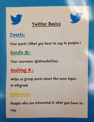 Take a look at this teacher's helpful resource to introduce twitter etiquette in the elementary school classroom.