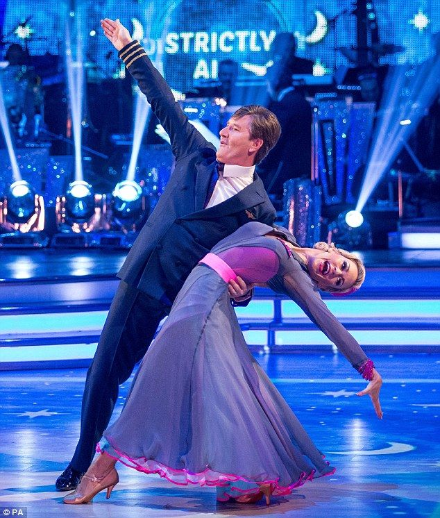 Ta ra! Daniel O'Donnell and Kristina Rihanoff were voted off Strictly Come Dancing on Sunday evening