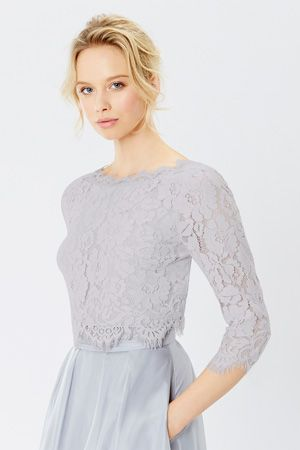 Lace Dresses and Outfits / Metallics SARDINIA LACE TOP  / Coast Stores Limited