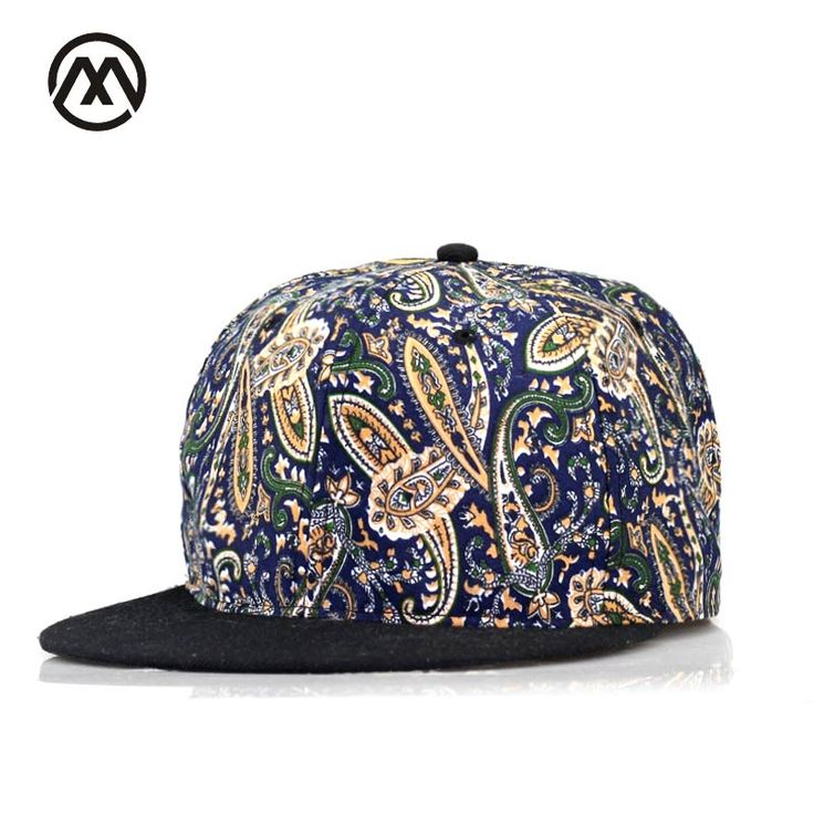 New men fall print hat boy personality snapback hip hop hat skateboard sports hat fashion style the rapper cap bones masculino #Affiliate