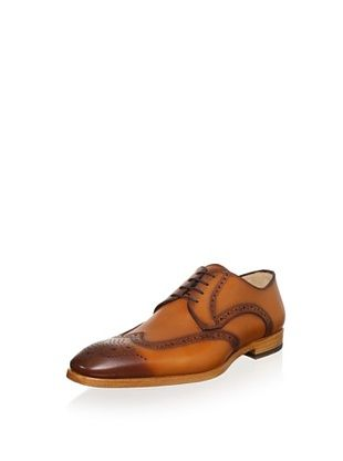 68% OFF Antonio Maurizi Men's Cap Toe Dress Shoe (Cognac)