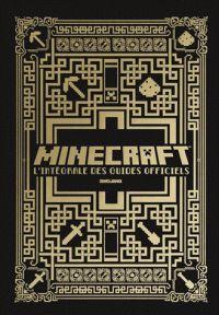 Minecraft, l'intégrale des guides officiels. Coffret en 4 volumes : Le guide officiel pour bien débuter ; Redstone, le guide officiel ; Combat, le guide officiel ; Construction, le guide officiel