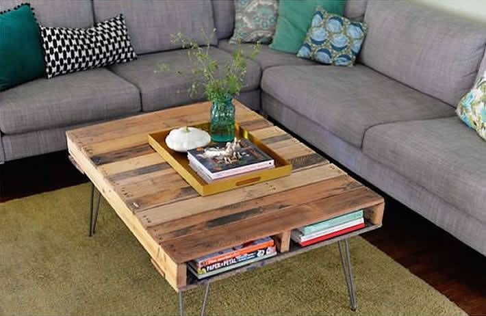Do it Yourself Project: How to Make a Coffee Table Out of Pallets