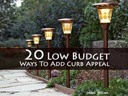 43 Ideas To Boost The Curb Eal Of Your Home Landscaping Pinterest Yard And