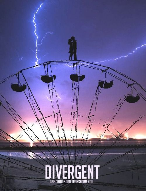 Divergent Movie Poster ~ Dauntless Ferirs Wheel ☠