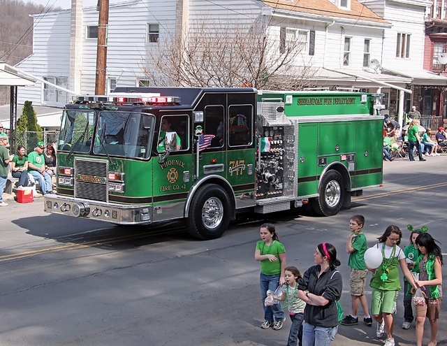 St patrick s day parade 2010 girardville pa saint patr i love this