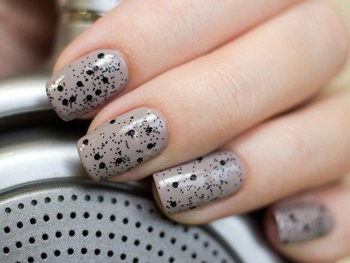 "Essie ""Master Plan"" и Dance Legend ""Blacky top"""