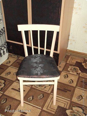 Интерьер Моя переделанная мебель Ткань фото 11