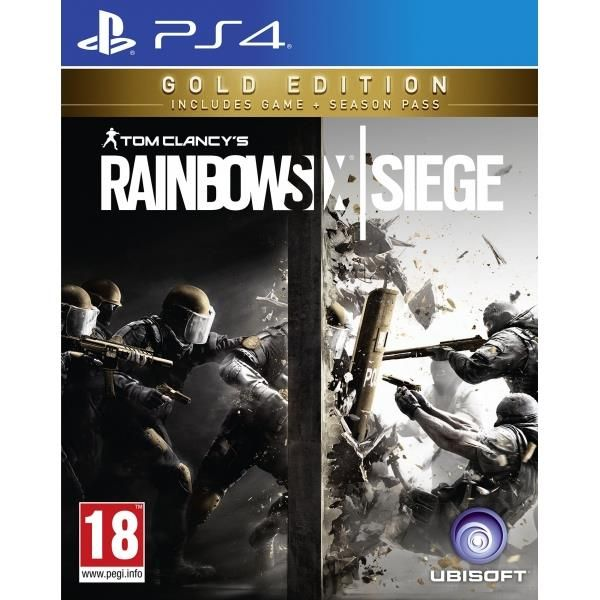 Tom Clancy's Rainbow Six Siege Gold Edition PS4 Game | http://gamesactions.com shares #new #latest #videogames #games for #pc #psp #ps3 #wii #xbox #nintendo #3ds