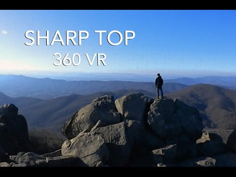 Sharp Top Mountain | A 360 VR Documentary - YouTube