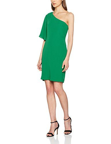fdb3af94d314 Trucco RT20EB10000 Vestido Casual para Mujer (Verde Medio) (Tamaño ...