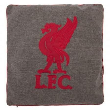 Liverpool FC Herringbone Pillow Cushion: Liverpool FC Store | Shop Anfield Online for LFC Football Merchandise