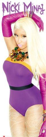Nicki Minaj Starships - plakat - 53x158 cm  Gdzie kupić? www.eplakaty.pl